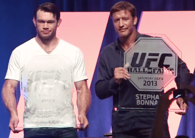 <center>Stephan Bonnar UFC Hall of Fame</center>